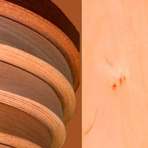Ольха мебельная кромка