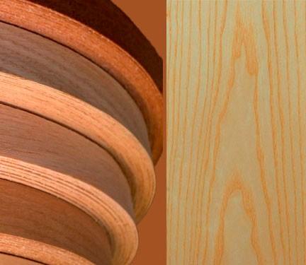 Ясень белый/цветной мебельная кромка